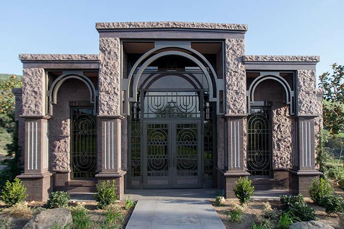 Private Family Mausoleum at Mount Sinai Simi Valley