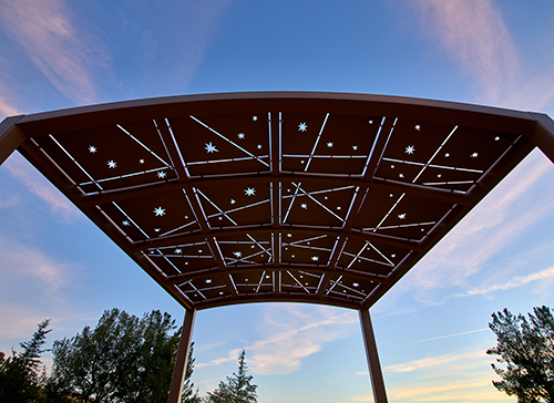 Shade Structure at Mount SInai Simi Valley