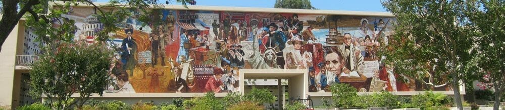 The Heritage Mosaic at Mount Sinai - Mount Sinai Hollywood Hills, a Jewish Cemetery in Los Angeles