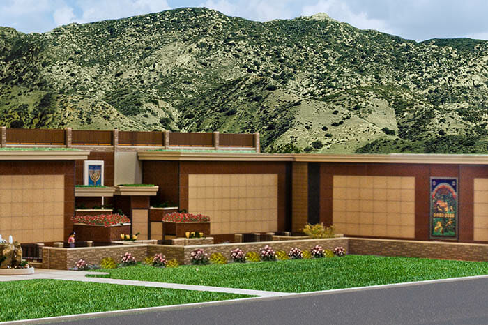 Artists rendering of Courts of Abraham at Mount Sinai Simi Valley