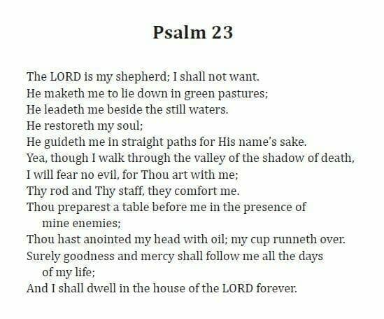 psalm-23-english