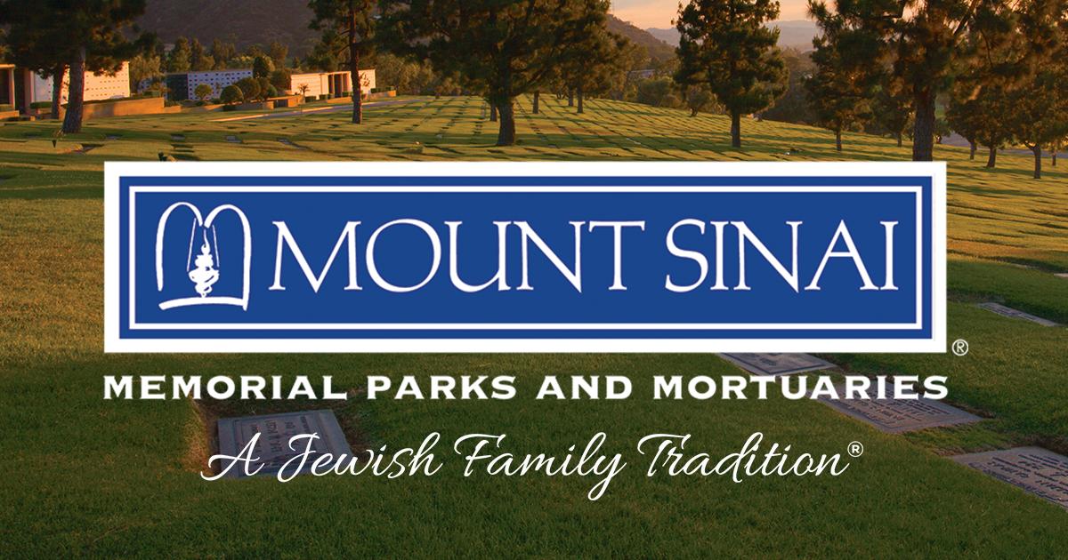 Mount Sinai Memorial Parks and Mortuaries - Jewish Mortuary